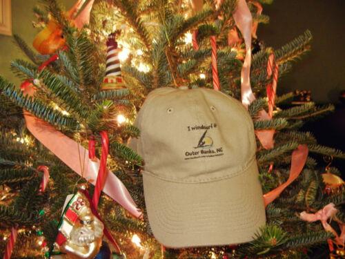 I  Windsurf @   Outer Banks Khaki-Colored Hat NC   100/% Cotton