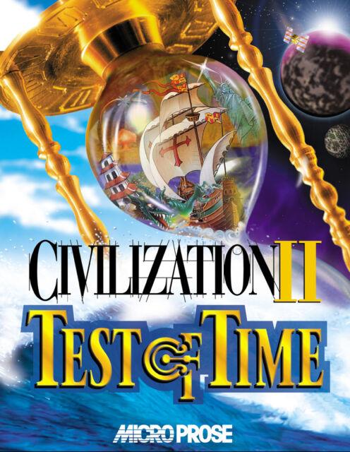 Sid Meier's Civilization II: Test Of Time (PC, 2000)