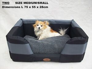 dog bed sml/med - six sizes s-extra large xxl four seasons durabed