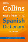 Easy Learning Spanish Dictionary by Collins Dictionaries (Paperback, 2012)