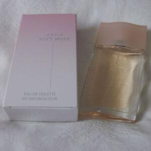 AVON-SOFT-MUSK-EAU-DE-TOILETTE-LADIES-PERFUME-SPRAY-50ml-NEW-BOXED
