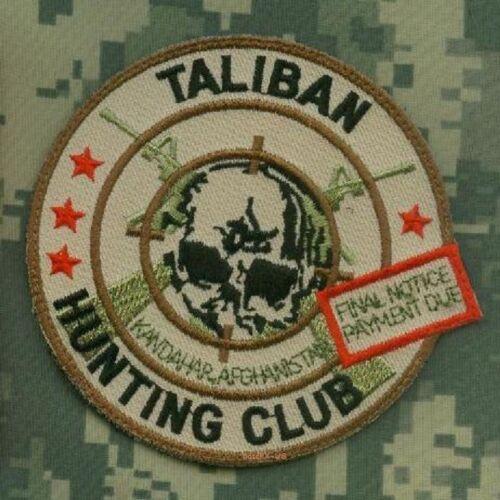 NATO ISAF SEAL SAS JTF2 KSK SP OPS TALIBAN WHACKER vel©®😎 SSI: Taliban Hunter