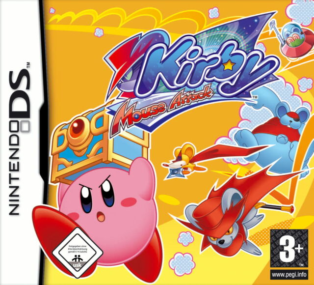 Kirby: Mouse Attack (Nintendo DS, 2007)