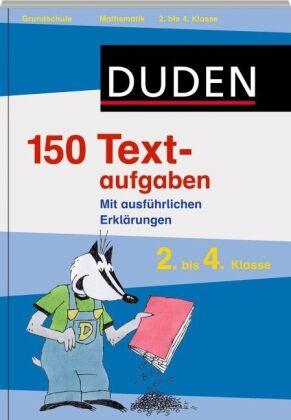 Duden 150 Textaufgaben Mathematik (2009, Taschenbuch)