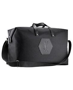 ysl black clutch with chain - YSL Yves Saint Laurent Travel Bag Weekender Duffle Gym Bag | eBay