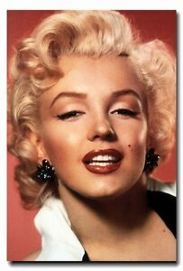 Marilyn-Monroe-POSTER-24-034-x35-034-Vintage-Style-Sexy-Lady-Beautiful-Face-Cool-Print