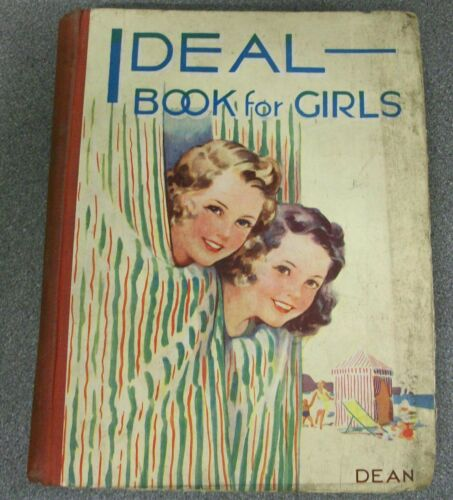 IDEAL BOOK FOR GIRLS H/B (DEAN & Co Ltd) L270-1224 Circa. 1930's