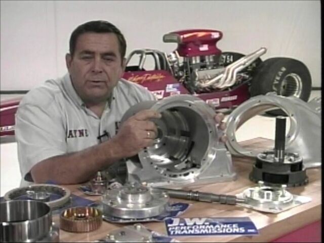 Building the Hi-Performance Racing Chevy 400 Turbo Transmission-DVD Step byStep