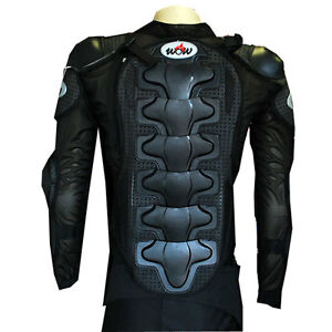 NEW-MOTORCYCLE-MOTOCROSS-BIKE-GUARD-PROTECTOR-YOUTH-KIDS-BODY-ARMOR-BLACK