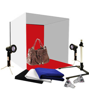 Photo-Studio-24-034-Photography-Lighting-Tent-Backdrop-Kit-60cm-Cube-Light-In-A-Box