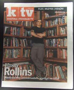 HENRY ROLLINS mag.FRONT cover, Marilyn Monroe,Anna Paquin,Tara Fitzgerald - europe, Polska - Zwroty są przyjmowane - europe, Polska