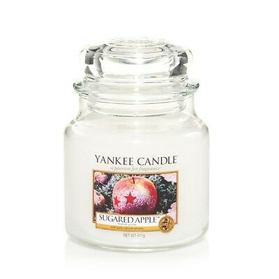 NEW Yankee Candle Medium Jars Scented Candles 25% OFF RRP Fruity, Fresh & Spicy