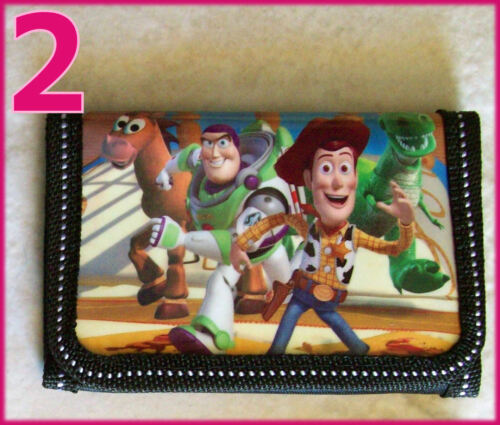 Kids Childs DISNEY  Buzz /& Woody TOY STORY TRI-FOLD WALLET Choose Design NEW