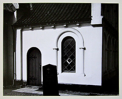"BRETT WESTON Signed 1968 Very Rare Original Photograph ""German Church"""