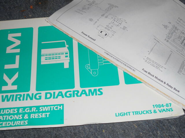 1987 Nissan Pathfinder And Pickup Truck Wiring Diagrams