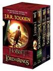 J.R.R. Tolkien 4-Book Boxed Set: The Hobbit and the Lord of the Rings (Movie Tie-In): The Hobbit, the Fellowship of the Ring, the Two Towers, the Return of the King by J R R Tolkien (Paperback / softback)