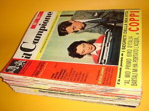 IL-CAMPIONE-rivista-1956-blocco-36-albi-PANINI