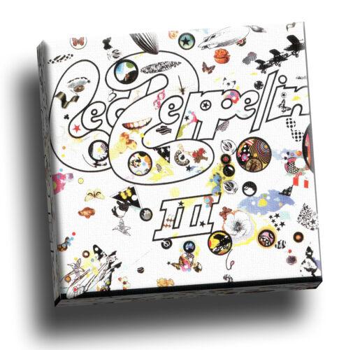 Led Zeppelin iii Giclee Canvas Album Picture Art