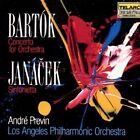 Bartók: Concerto for Orchestra; Janácek: Sinfonietta (1989)