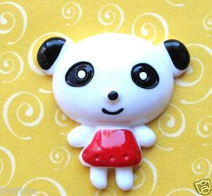 10-x-1-25-034-Resin-Baby-Girl-Kids-Panda-Flatback-Beads-for-Hair-Bows-Cards-SB413G