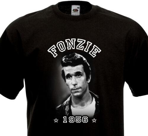 T-shirt FONZIE  Rock/'n/'Roll Rockabilly Greaser Rocker 50/'s 60/'s Happy Days Diner