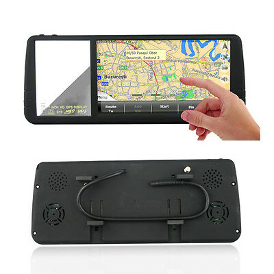 7inch Rearview Mirror Monitor With USB,SD,GPS Navigation With Bluetooth