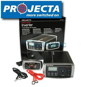 PROJECTA-POWER-INVERTER-IP600-PURE-SINE-WAVE-600W-12V-12-VOLT-CAR-DC-TO-AC-NEW