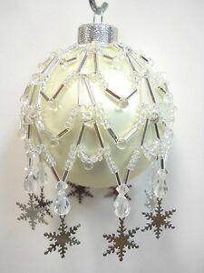 Beaded Christmas Ornaments Kits