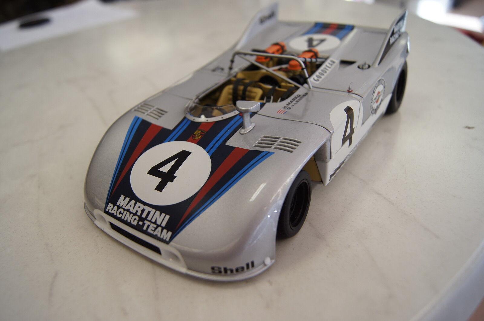 confortevole PORSCHE PORSCHE PORSCHE 908 3  Martini   4 NURBURGRING 1971 1 18 Autoart NUOVO & OVP  spedizione e scambi gratuiti.
