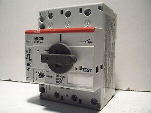 Abb Ms325 1 6 Ms 325 Ms325 690v 1 1 6a Manual Motor