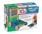 Melissa and Doug Melissa and Doug Deluxe Wooden Chomp and Clack Alligator Push Toy
