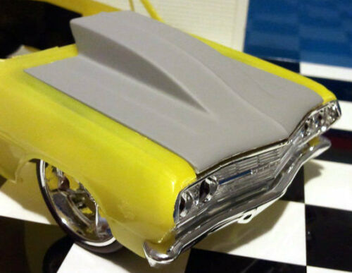 Resin-Outlaw-Hood-039-65-Chevelle-Superwagon-AMT-1-25