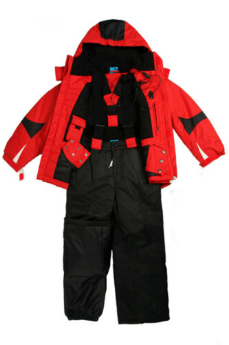 KIDZ Boys Ski/Snow Wear Jacket/Pants in Blue/Red/Yellow SZ 7-8,9-10,12,14