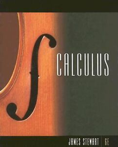 Calculus by James Stewart (2008, Hardcover) 6th Edition