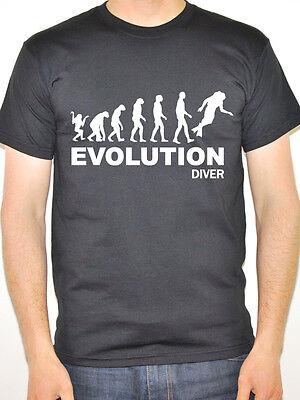 EVOLUTION DIVER - Diving / Sports / Water Themed Men's T-Shirt