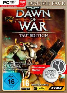 Warhammer-40-000-Dawn-of-War-Double-Pack-Tau-Edition-PC-NEU