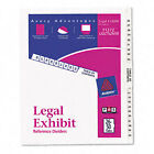 Avery Dennison Ave-11372 Premium Collated Legal Exhibit Dividers - 26