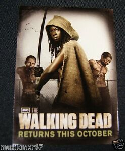SDCC-Comic-Con-2012-EXCLUSIVE-AMC-The-Walking-Dead-MICHONNE-Trading-Card-SDCC1