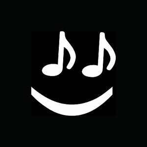 MUSIC-NOTE-SMILEY-FACE-Sticker-Cute-Funny-Vinyl-Decal-Love-Play-Band-Instrument