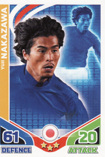 Match Attax World Cup 2010 Japan /& Korea DPR Cards Pick From List