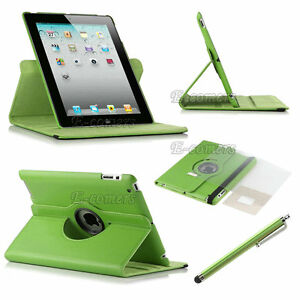 The-New-iPad-3-iPad-2-Rotating-PU-Leather-Magnetic-Smart-Cover-Case-Stand-Stylus
