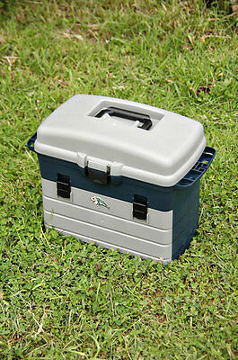 "FISHINGMAD FISHING TACKLE BOX LURE BOX "" STRONG ENOUGH TO USE AS SEATBOX"""