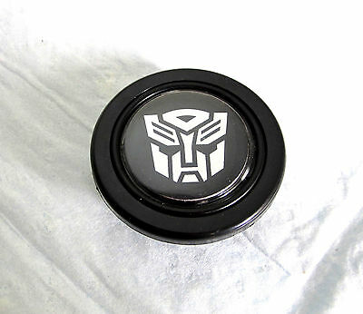 TRANSFORMERS AUTOBOT STEERING WHEEL HORN BUTTON - NEW