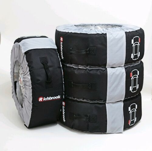 "Car Tyre/Wheel Bags 4 Richbrook Bag Covers Race Winter XL 19-22"" Wheel 3600.71"