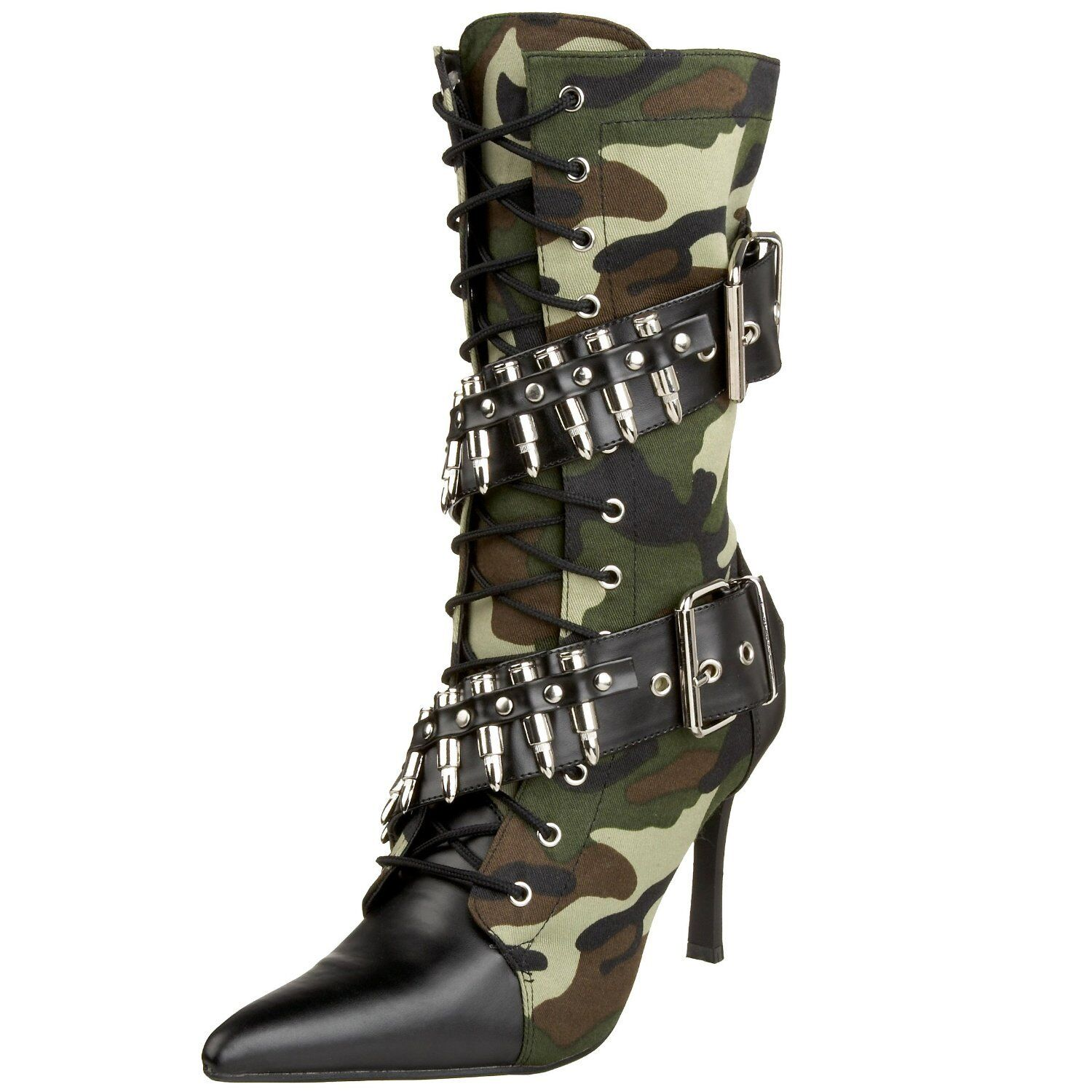 Funtasma Militant-128 Cop-911 Police-201 Spicy-138 Women's Military Boots