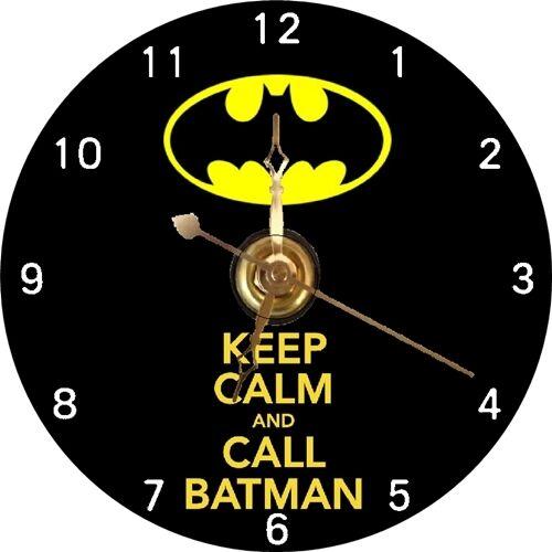 BRAND NEW Batman Saying CD Clock