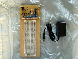 Breadboard Design Station with Power Supplies and Audio Function Generator QRP