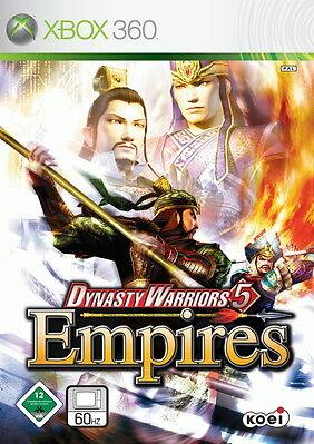 Dynasty Warriors 5: Empires (Microsoft Xbox 360, 2007, DVD-Box)