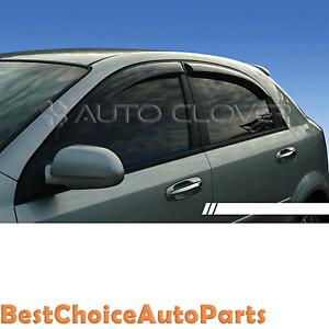 Sun-Shade-Rain-Guard-Door-Window-Vent-Visor-for-04-08-Chevrolet-Lacetti-5D