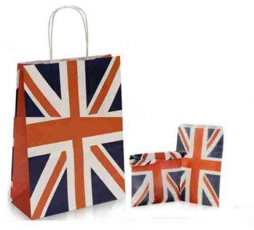 PARTY GIFT BAGS WITH FREE PAPER CANDY SWEET BAGS MEDIUM SIZED